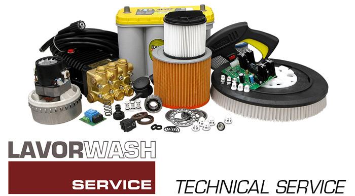 Servicio técnico para equipos de limpieza industrial y doméstica Lavor Querétaro