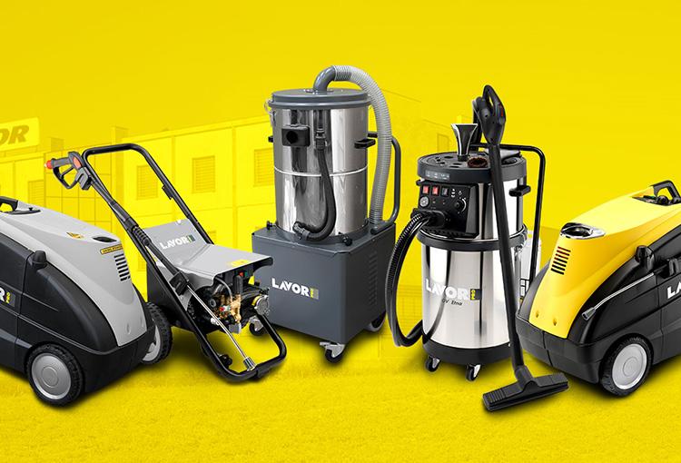 Leasing de equipos de limpieza industrial y doméstica Lavor Querétaro